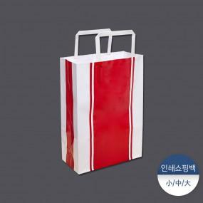 [패킹콩] 인쇄쇼핑백-레드카펫 50장 이미지