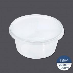 [패킹콩] T시리즈 원형 내열 용기 50개/300개/500개 이미지