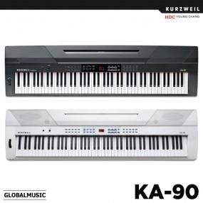 영창 커즈와일 KA-90 스테이지피아노 디지털피아노 전자키보드 KA90 (블랙/화이트) 이미지