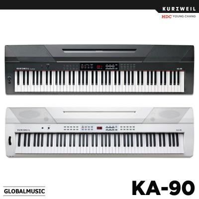 영창 커즈와일 KA-90 스테이지피아노 디지털피아노 전자키보드 KA90 (블랙/화이트)
