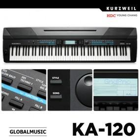영창 커즈와일 스테이지 피아노 KA-120 이미지