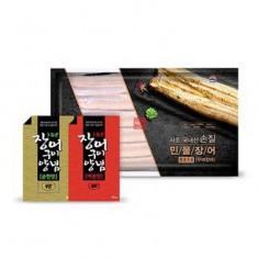 사조 국내산 민물장어 5마리(1.4kg )+ 매운맛소스 4봉 + 순한맛소스 4봉 이미지