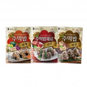 맛있는풍경 주먹밥 3종 기획 (한우,야채,버섯) 이미지
