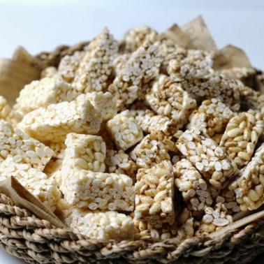 친환경 수제 쌀강정 150g*3종(유기농쌀,무농약현미,쌀보리현미강정) 이미지