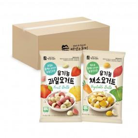 맛있는풍경 유기농 요거트볼, 15개, 한박스 (과일,채소) 이미지