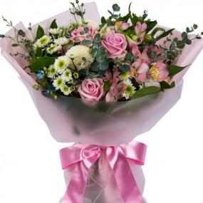 [꽃다발]꽃과나비 이미지