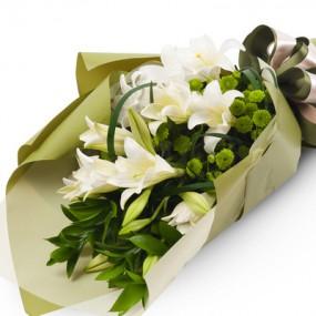 [꽃다발]백합꽃다발 이미지