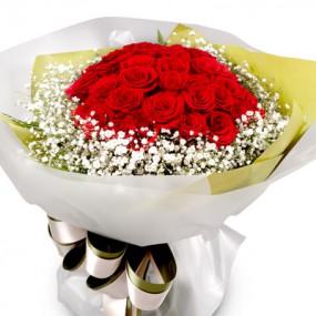 [꽃다발]빨간장미꽃다발2 이미지