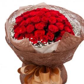 [꽃다발]빨간장미꽃다발3 이미지