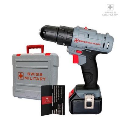 [스위스밀리터리]  리튬이온 18V 전동 햄머 드릴 SML-1800M