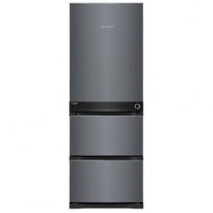 [위니아딤채] 스탠드형 3룸 김치냉장고 330L 애쉬블랙 (2020년형) / HDT33DLMSBS 이미지