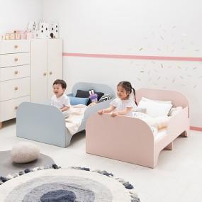 [현대리바트] 꼼므 길이조절 침대(매트포함) 이미지