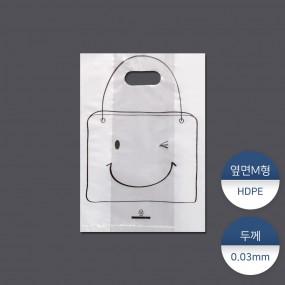 [패킹콩] HD테이크아웃비닐74-가방 100장 이미지