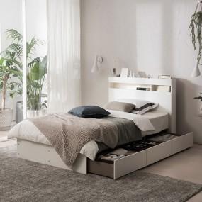 [현대리바트] 필로시 멀티 수납 침대 슈퍼싱글/퀸 이미지