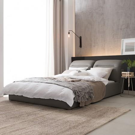 [현대리바트] 뉴트 리클라이닝 가죽 퀸 침대 매트 5종 택 1 이미지