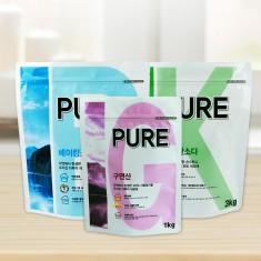 PURE(퓨어) 베이킹소다 3kg + 구연산 일반 1kg + 과탄산소다 3kg 이미지