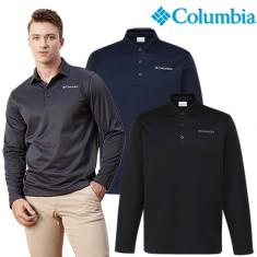 컬럼비아 남성 웜 기모 카라 티셔츠(CZ3-YMD691) 이미지