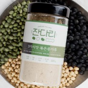 [아자몰에서만 만날 수 있는 가격] 잔다리마을 백태 서리태 청서리태 3가지맛 볶은콩가루(220g/500g) 이미지