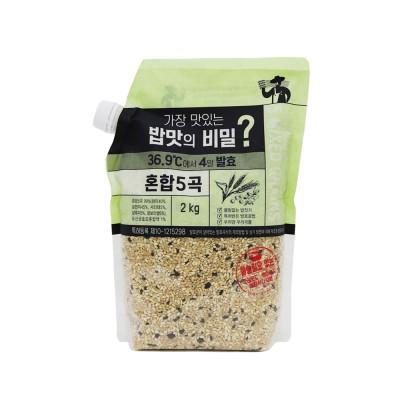 [광복] 가장 맛있는 밥맛의 비밀? 4일 발효 혼합5곡 2kg