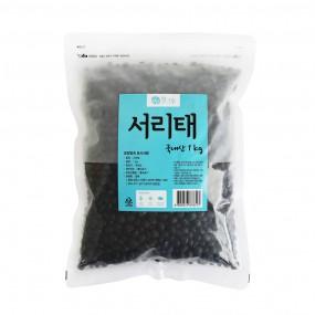 [광복] 청그루 서리태 1kg 이미지