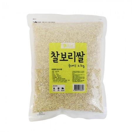 [광복] 청그루 찰보리 2kg