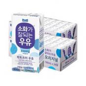 매일 멸균 소화가 잘되는 우유 190ml 48팩 이미지