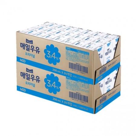 매일유업 매일우유 - 멸균 오리지널 200ml 48팩