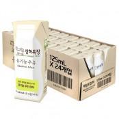 상하목장 유기농 멸균우유 125ml 24팩 이미지