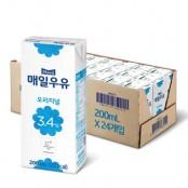 매일 멸균 오리지널 우유 200ml 24팩 이미지