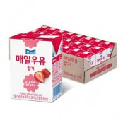 매일 멸균 딸기, 초콜릿, 커피우유 200ml 24팩 이미지