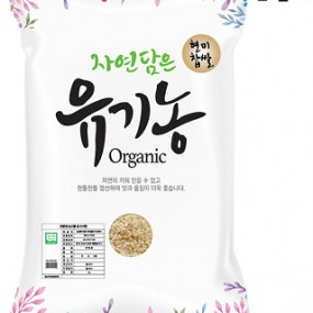 [푸른들판] 유기농 찰현미 2kg 이미지