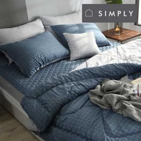[simply home] 심플리홈 라이프 차렵이불,패드,베개커버 싱글 풀세트 이미지