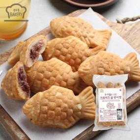 우리밀 크림치즈 팥 붕어빵 500g(50g x 10개입) 이미지