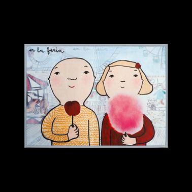 [RUG] At the fair 명화 러그/카펫트 이미지
