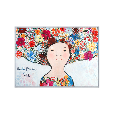 [RUG] Full of flowers 명화 러그/카펫트 이미지