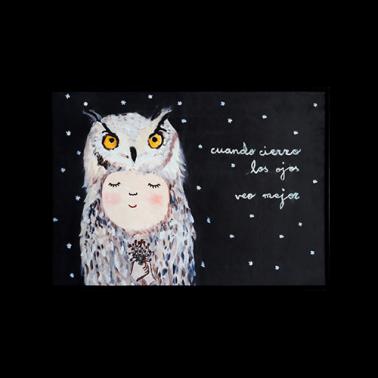 [RUG] Owl 명화 러그/카펫트 이미지