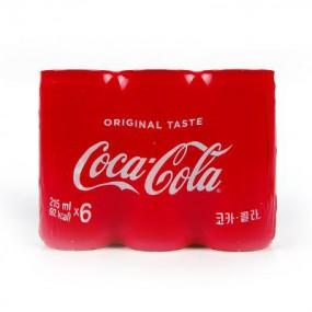 [아자마트][코카콜라] 코카콜라 CAN 215ml*6 이미지