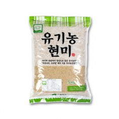 [두보식품] 햇곡 유기농 현미 5kg 이미지