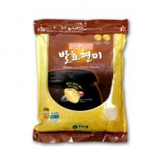 [두보식품] 발효현미 3kg 이미지