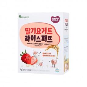 [또또맘] 라이스퍼프 딸기요거트 1박스(10gX2봉) 이미지