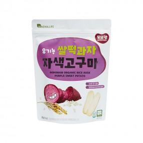 [또또맘] 유기농 쌀떡과자 자색고구마 20g 이미지