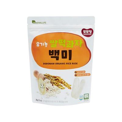 [또또맘] 유기농 쌀떡과자 백미 20g 1봉