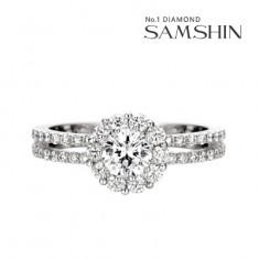 [삼신다이아몬드] 블러썸 3부 다이아몬드 반지 이미지