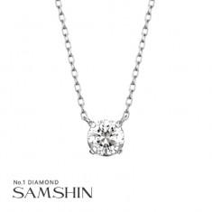 [삼신다이아몬드] 세그레또 3부 다이아몬드 목걸이 이미지