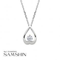 [삼신다이아몬드] 그라찌오소 1부 다이아몬드 목걸이 이미지