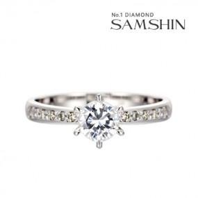 [삼신다이아몬드] 포에니 5부 14K 반지 이미지