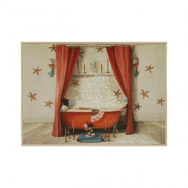 [RUG] Princess Edwina Takes A Bath 명화 러그/카펫트 이미지