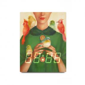 [LED CLOCK] 자넷힐 LED탁상시계 4Types 명화시계/벽시계 이미지