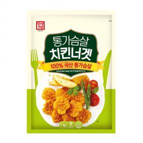 [한성기업] 통가슴살 치킨너겟 1kg 이미지