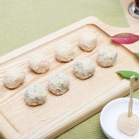 [농식품벤져스] 착한마을 모듬인절미(소)+호박인절미(소) 무료배송! 이미지